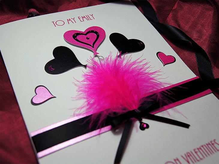J'adore Handmade Valentines Card