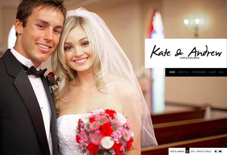 Kate & Andrew Wedding Photo Gallery