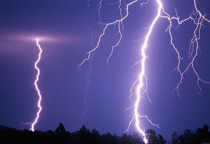 Lightning Bolts - Windows 8 Wallpaper