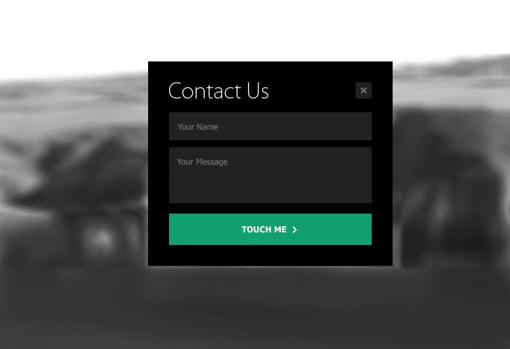 website form template