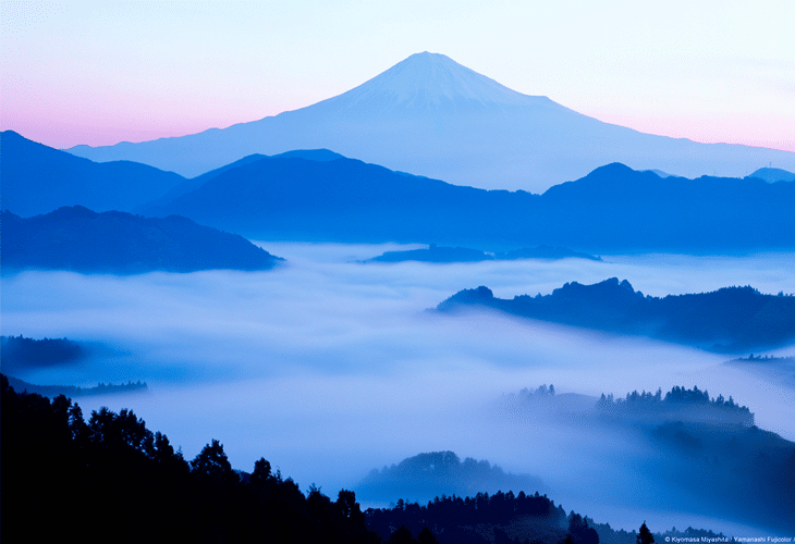 Mount Fuji Silhouette - Windows 8 Wallpaper