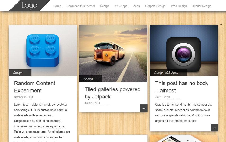 Pinbin – Beautiful & Responsive WordPress Theme