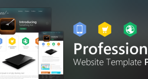 Professional Website Template Design PSD from CSS Author – Freebie No: 54
