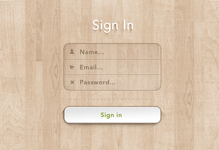 Sign-In-Form