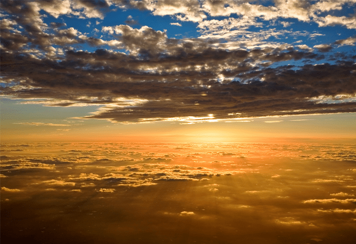 Sunset Clouds - Windows 8 Wallpaper