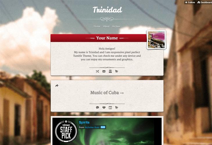 Trinidad Responsive Theme