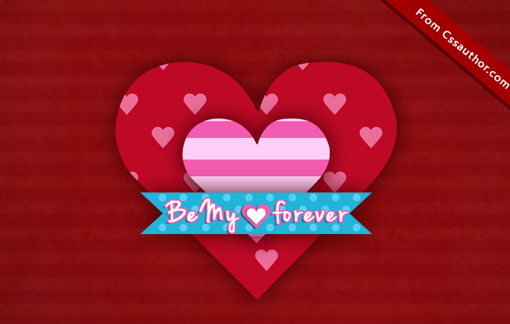Valentines Day Wallpaper - cssauthor.com
