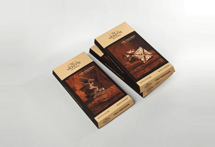 Violette Chocolatier - branding