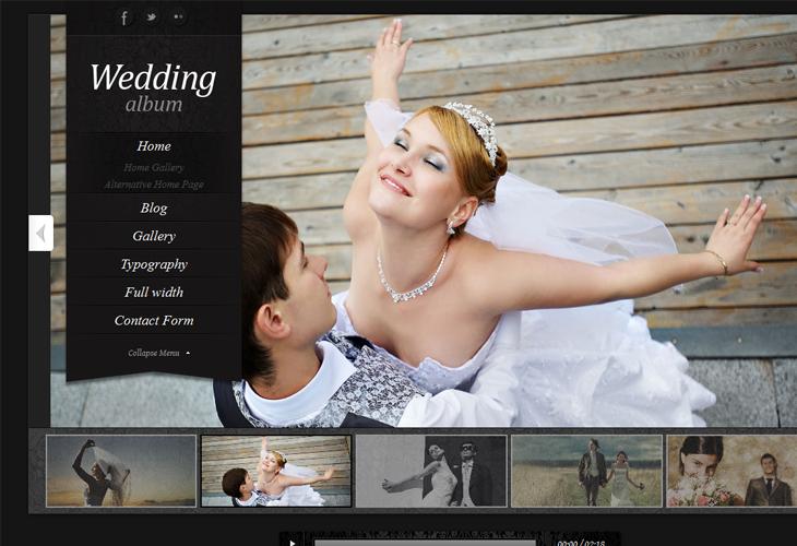Wedding Album Premium WordPress Theme