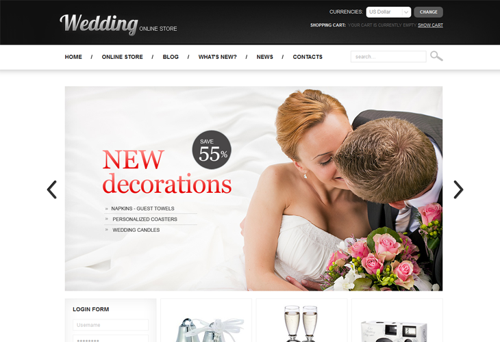 Wedding Online Store