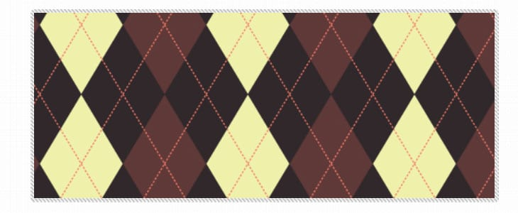 50 Astonishing Argyle Pattern Swatches for Illustrator