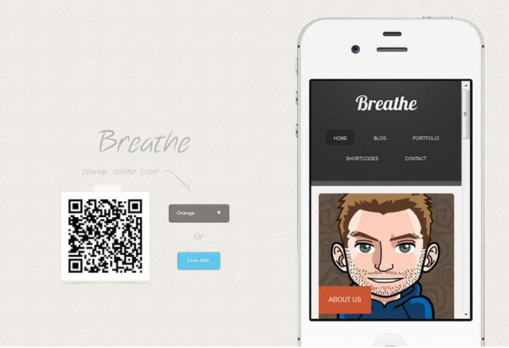 Breathe - WordPress