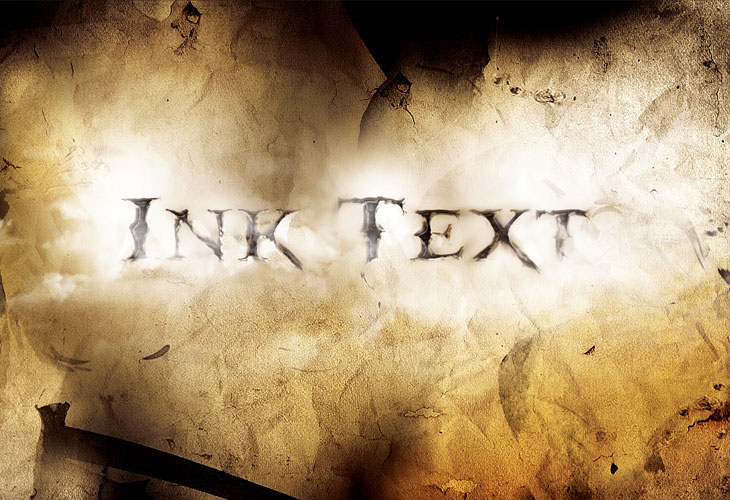 Dissolved-Ancient-Ink-Text-Effect-in-Photoshop