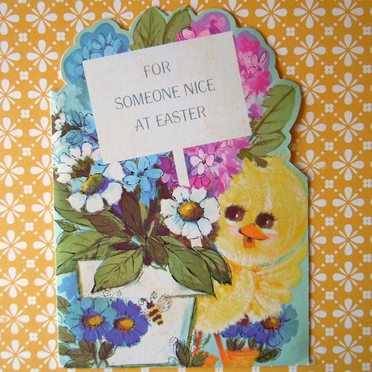 Easter Vintage Greeting Card