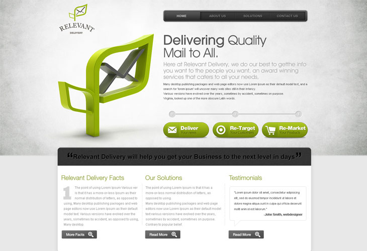Email-Delivery-website