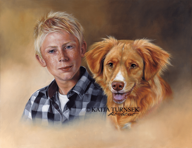 Family Portraits in Oil / Robin & Tuffe