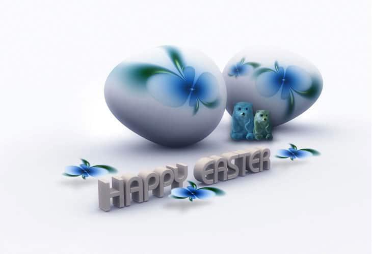 Happy-Easter-3D-Desktop-Wallpaper
