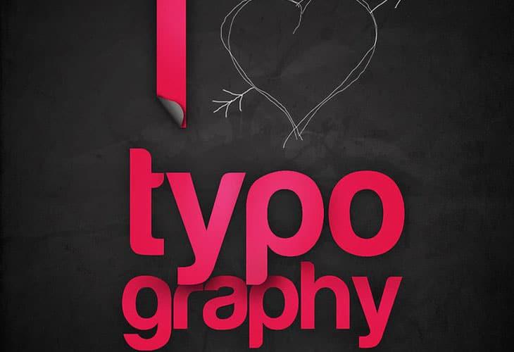 I-love-typography