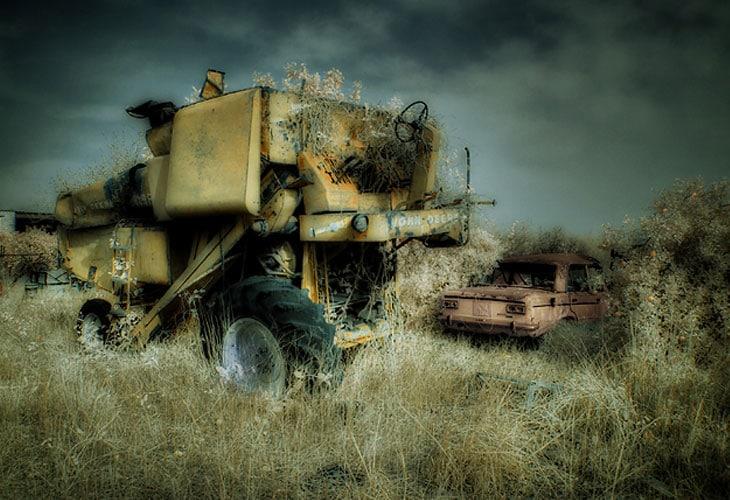 Infrared-Jonh-Deere-Harvester