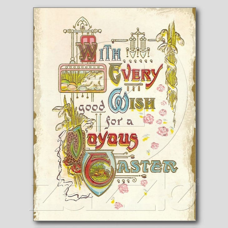 Joyous Easter Postcards