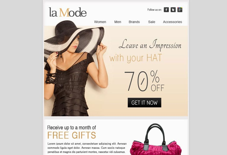 La-Mode-–-Email-Template