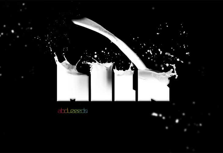 Milk-Typography-Effect-In-Photoshop