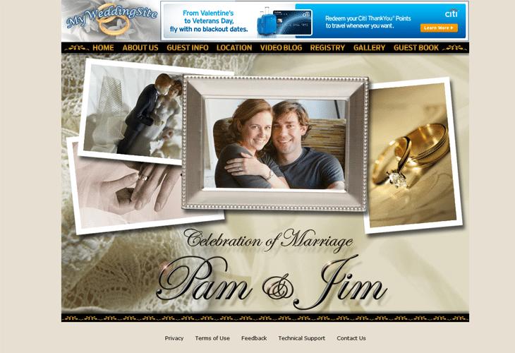 Pam Beesly & Jim Halpert