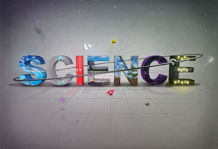 Science-Typography