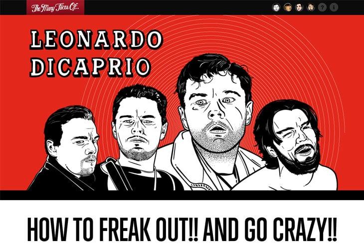 The Many Faces Of… Leonardo DiCaprio