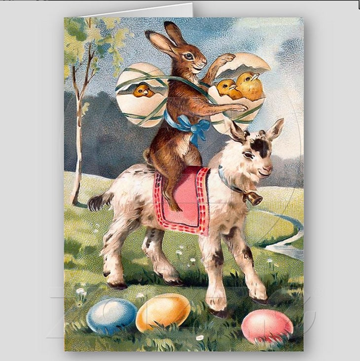 vintage easter bunny - photo #28