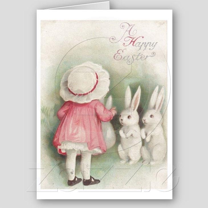 Vintage Happy Easter! Vintage Easter Greeting Card