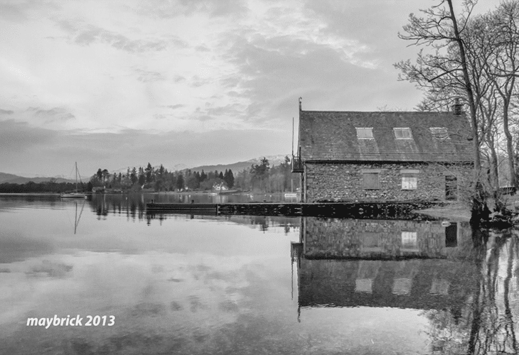 Windermere Boat House - Natural Photography