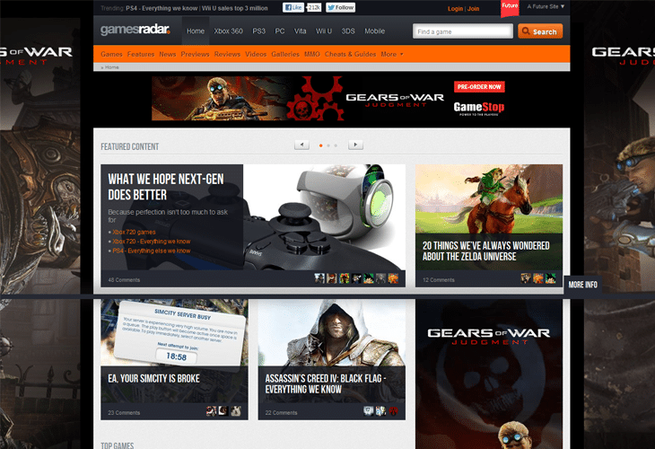 30 Best Gaming Websites for Inspiration