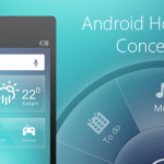 Android Home Screen Concept PSD - cssauthor.com