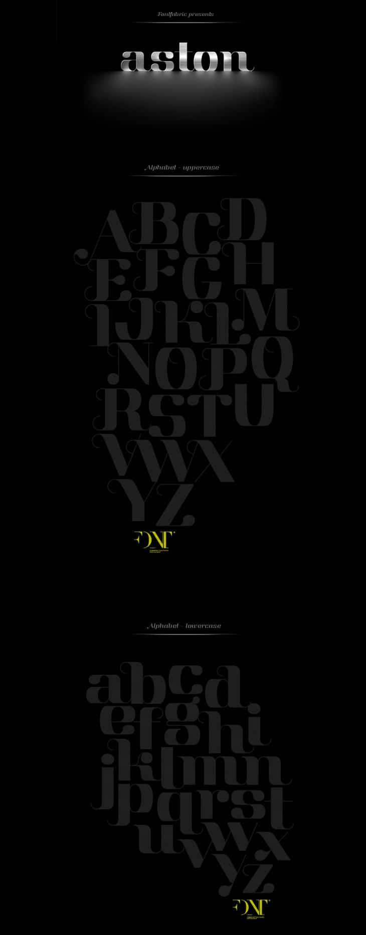 Aston-font