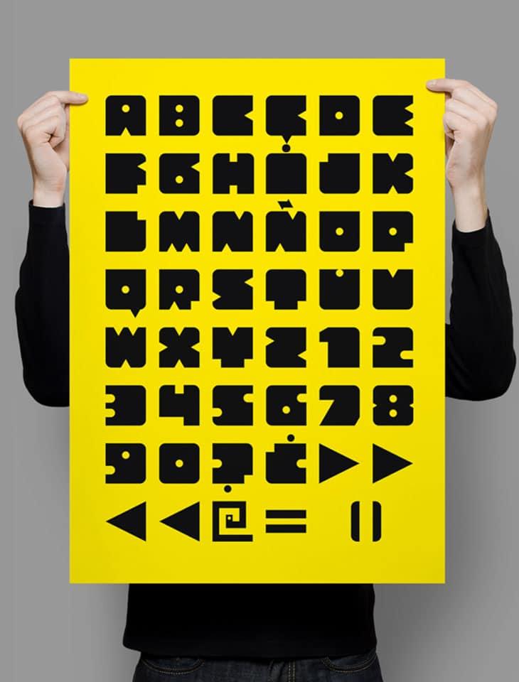 Bloquer-Modular-typeface