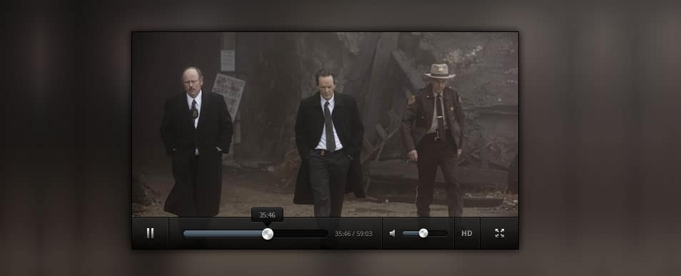 Clean Video Player(PSD)
