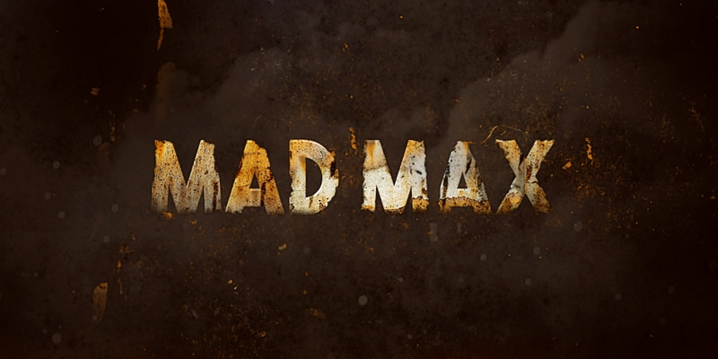 Create Rusted Metal Text Effect