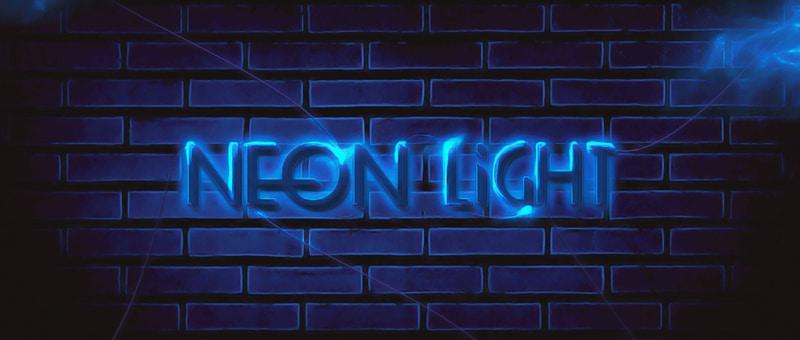 Create Unique Neon Text Effect