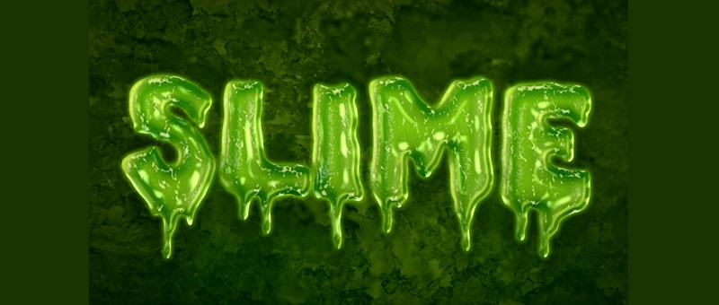 Easy Slime Text Effect