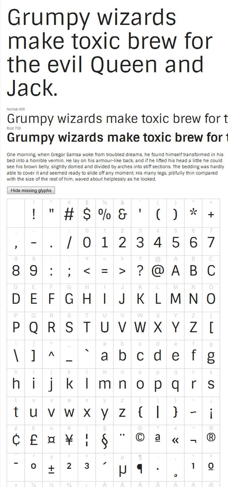 Google-Web-Font-Sintony
