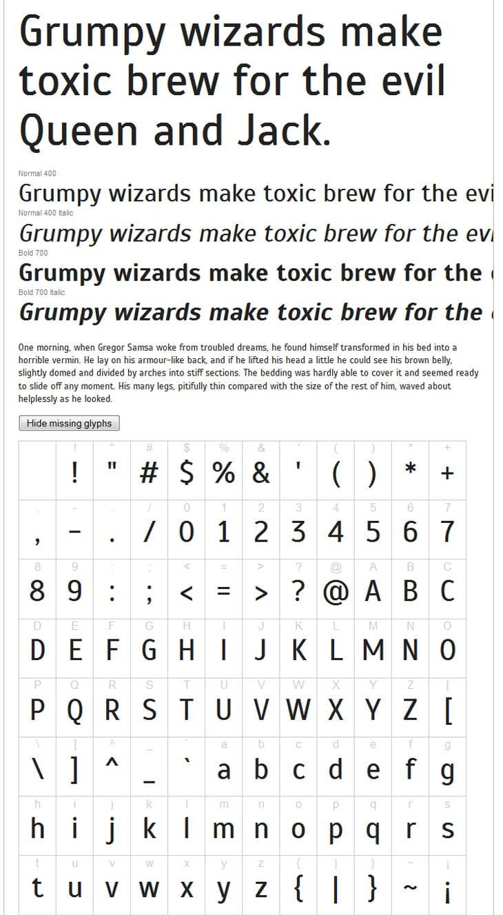 Google-Web-Font-Scada