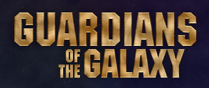 Guardians of the Galaxy Text Effect