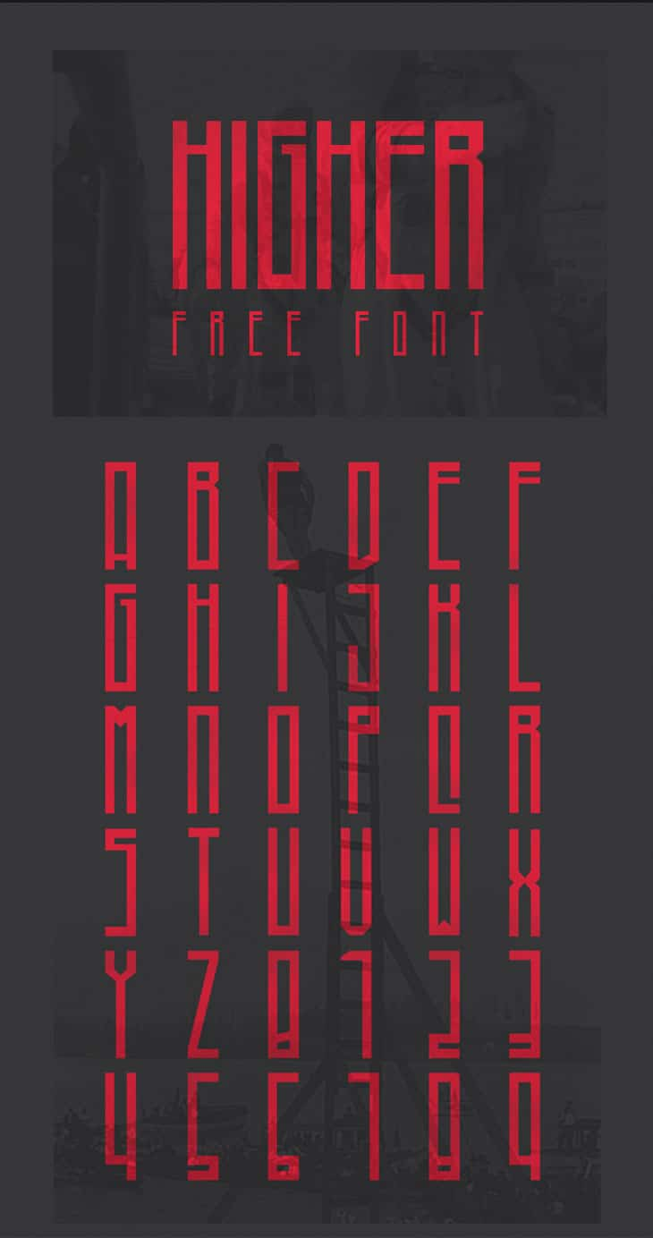 Higher-Free-Font