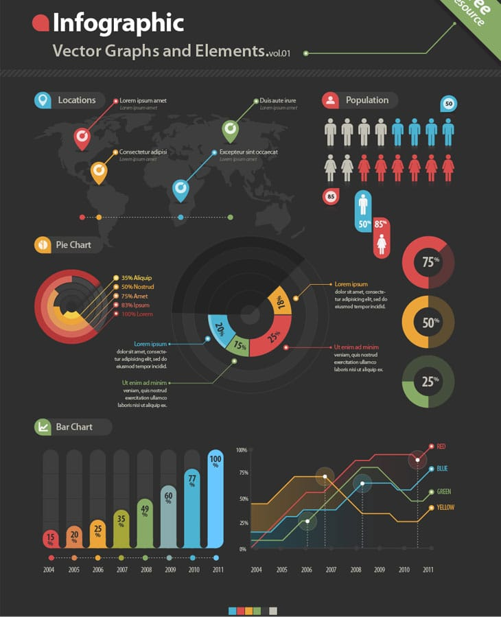 Infographic-Vector-Graphs-and-Elements