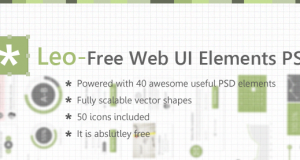 Leo – Free Web UI Elements PSD for Free Download – Freebie No: 82