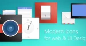 Modern Icons For Web And UI Designs – Freebie No: 91