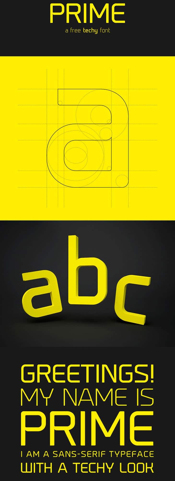 Prime-free-font
