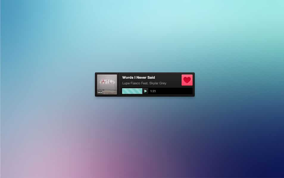 Radio player freebie (PSD)
