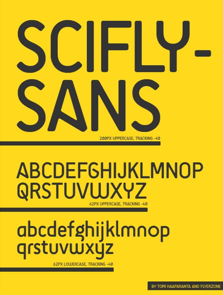 Scifly-Sans-Font